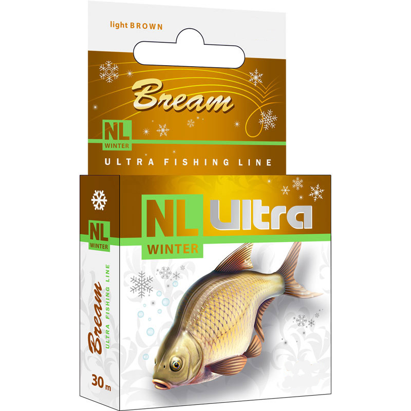 Леска AQUA NL WINTER ULTRA BREAM (Лещ)